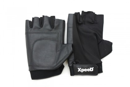 XP 1002 Leather / Lycra Weightlifting Gloves