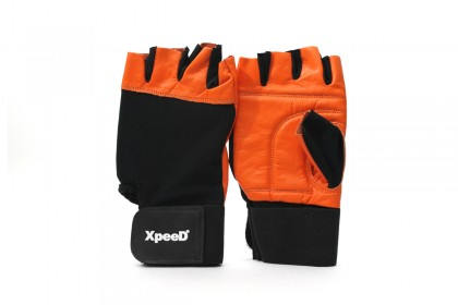 XP 1003 Leather / Spandex Weightlifting Gloves