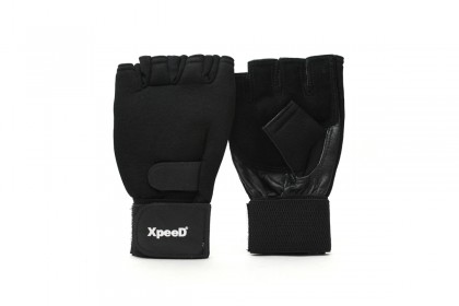 XP 1004 Leather / Spandex Weightlifting Gloves